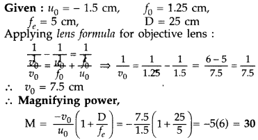 Important Questions for Class 12 Physics Chapter 9 Ray Optics and Optical Instruments Class 12 Important Questions 170