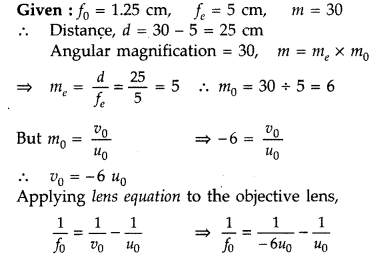 Important Questions for Class 12 Physics Chapter 9 Ray Optics and Optical Instruments Class 12 Important Questions 179