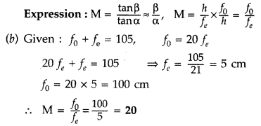 Important Questions for Class 12 Physics Chapter 9 Ray Optics and Optical Instruments Class 12 Important Questions 183