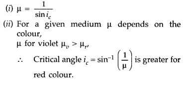 Important Questions for Class 12 Physics Chapter 9 Ray Optics and Optical Instruments Class 12 Important Questions 27