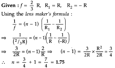 Important Questions for Class 12 Physics Chapter 9 Ray Optics and Optical Instruments Class 12 Important Questions 29
