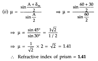Important Questions for Class 12 Physics Chapter 9 Ray Optics and Optical Instruments Class 12 Important Questions 51