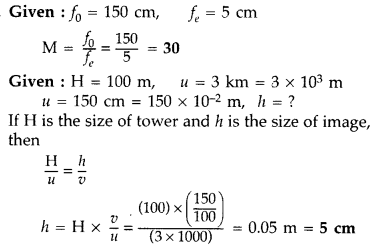 Important Questions for Class 12 Physics Chapter 9 Ray Optics and Optical Instruments Class 12 Important Questions 64