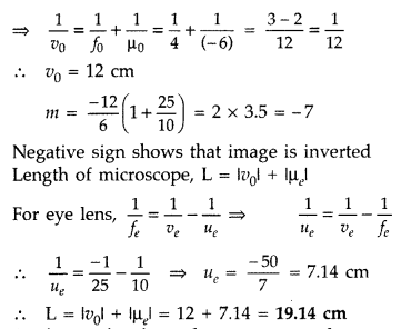 Important Questions for Class 12 Physics Chapter 9 Ray Optics and Optical Instruments Class 12 Important Questions 96