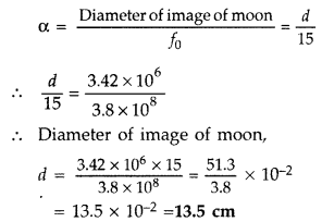 Important Questions for Class 12 Physics Chapter 9 Ray Optics and Optical Instruments Class 12 Important Questions 99