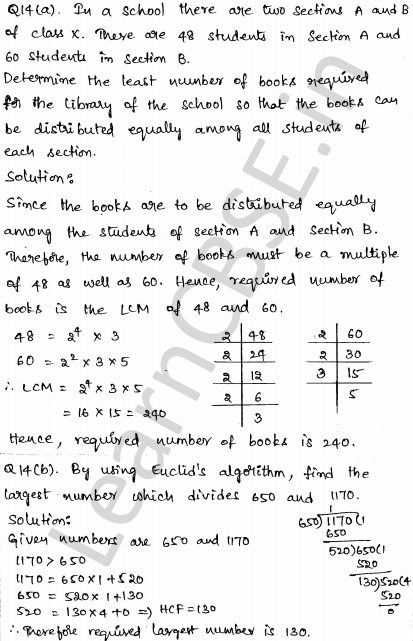 Solved CBSE Sample Papers for Class 10 Maths Set 2 8