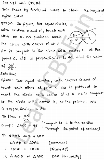 Solved CBSE Sample Papers for Class 10 Maths Set 4 1.23