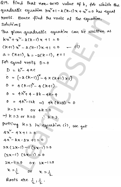 Solved CBSE Sample Papers for Class 10 Maths Set 5 1.13