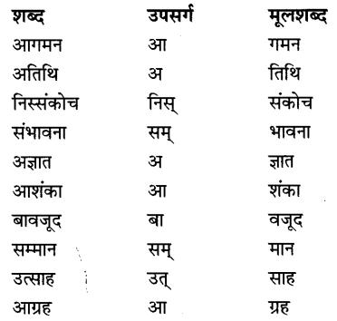 CBSE Class 9 Hindi B व्याकरण उपसर्ग-प्रत्यय 15