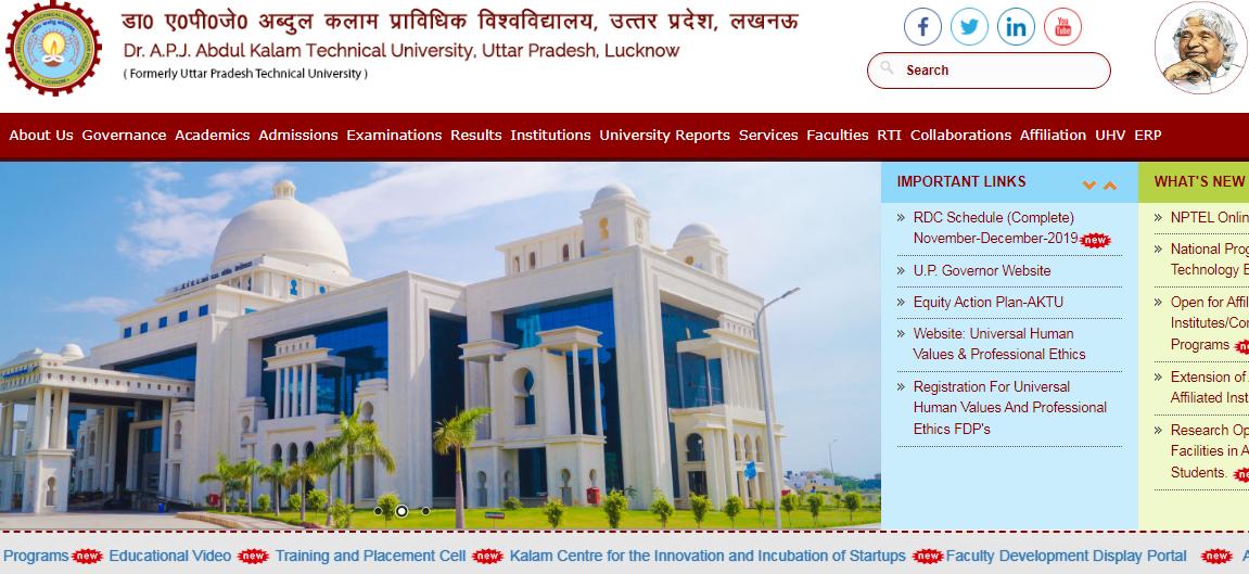 Dr. A.P.J. Abdul Kalam Technical University Uttar Pradesh