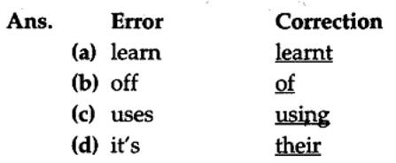 Editing Exercises for Class 10 CBSE with Answers 9