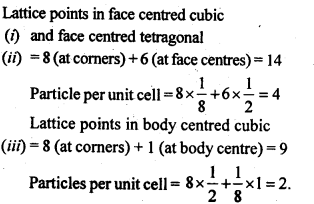 NCERT Solutions For Class 12 Chemistry Chapter 1 The Solid State Exercises Q8