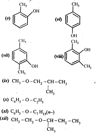 NCERT Solutions For Class 12 Chemistry Chapter 11 Alcohols Phenols and Ether Exercises Q1.2
