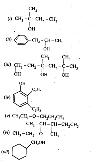 NCERT Solutions For Class 12 Chemistry Chapter 11 Alcohols Phenols and Ether Exercises Q2