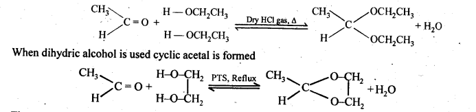 NCERT Solutions For Class 12 Chemistry Chapter 12 Aldehydes Ketones and Carboxylic Acids Exercises Q1.1