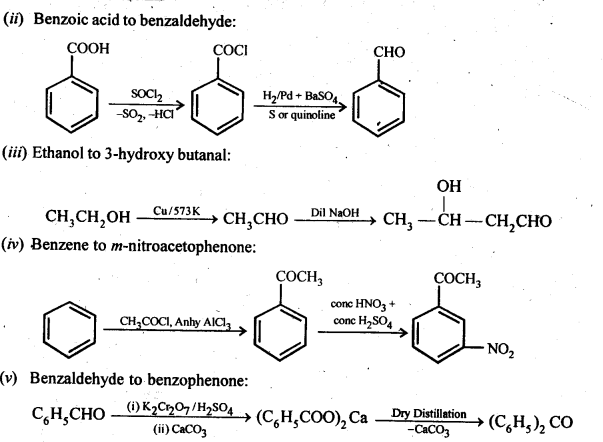 NCERT Solutions For Class 12 Chemistry Chapter 12 Aldehydes Ketones and Carboxylic Acids Exercises Q15.1