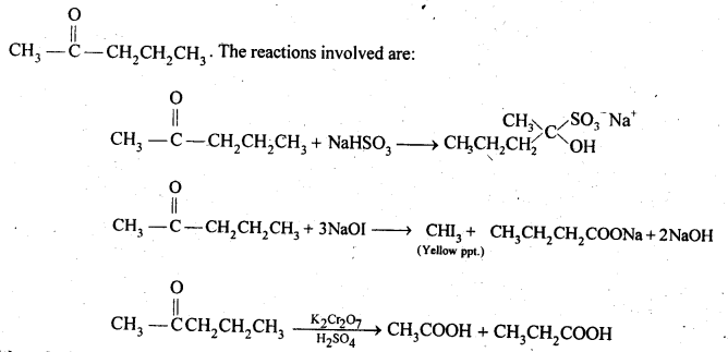 NCERT Solutions For Class 12 Chemistry Chapter 12 Aldehydes Ketones and Carboxylic Acids Exercises Q19.1