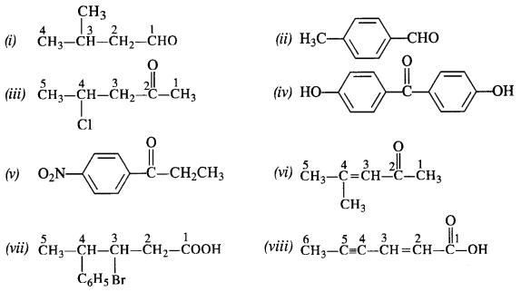 NCERT Solutions For Class 12 Chemistry Chapter 12 Aldehydes Ketones and Carboxylic Acids Exercises Q3