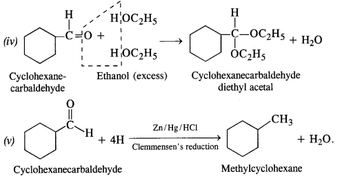 NCERT Solutions For Class 12 Chemistry Chapter 12 Aldehydes Ketones and Carboxylic Acids Exercises Q6.1