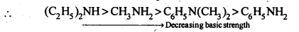 NCERT Solutions For Class 12 Chemistry Chapter 13 Amines Exercises Q4.1
