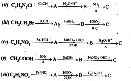 NCERT Solutions For Class 12 Chemistry Chapter 13 Amines Exercises Q9.1