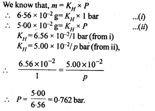 NCERT Solutions For Class 12 Chemistry Chapter 2 Solutions Exercises Q13