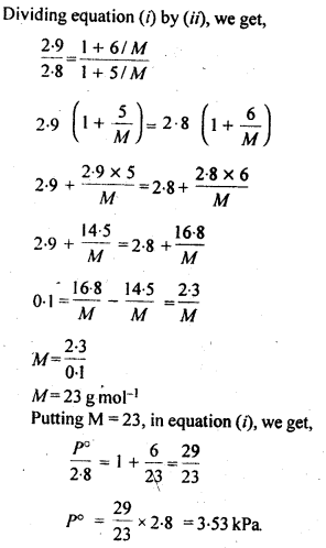 NCERT Solutions For Class 12 Chemistry Chapter 2 Solutions Exercises Q19.2