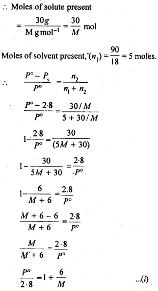 NCERT Solutions For Class 12 Chemistry Chapter 2 Solutions Exercises Q19