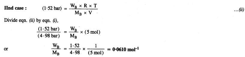 NCERT Solutions For Class 12 Chemistry Chapter 2 Solutions Exercises Q22.1