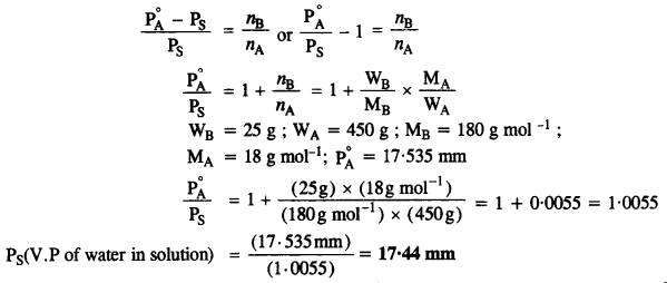 NCERT Solutions For Class 12 Chemistry Chapter 2 Solutions Exercises Q34