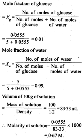 NCERT Solutions For Class 12 Chemistry Chapter 2 Solutions Exercises Q5.1