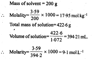 NCERT Solutions For Class 12 Chemistry Chapter 2 Solutions Exercises Q8.1