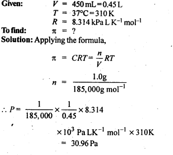 NCERT Solutions For Class 12 Chemistry Chapter 2 Solutions Textbook Questions Q12