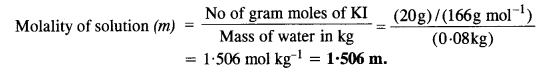 NCERT Solutions For Class 12 Chemistry Chapter 2 Solutions Textbook Questions Q5