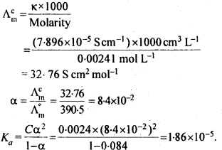 NCERT Solutions For Class 12 Chemistry Chapter 3 Electrochemistry Exercises Q11
