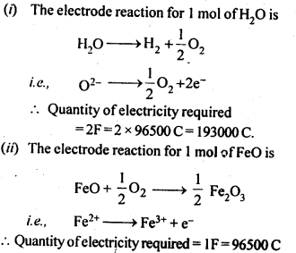 NCERT Solutions For Class 12 Chemistry Chapter 3 Electrochemistry Exercises Q14