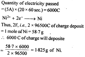 NCERT Solutions For Class 12 Chemistry Chapter 3 Electrochemistry Exercises Q15