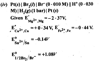 NCERT Solutions For Class 12 Chemistry Chapter 3 Electrochemistry Exercises Q5.2