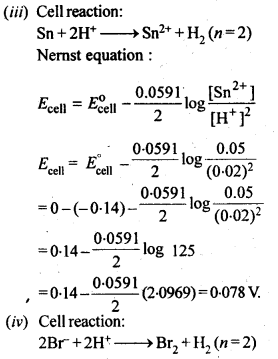 NCERT Solutions For Class 12 Chemistry Chapter 3 Electrochemistry Exercises Q5.3