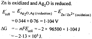 NCERT Solutions For Class 12 Chemistry Chapter 3 Electrochemistry Exercises Q6.1