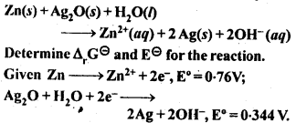 NCERT Solutions For Class 12 Chemistry Chapter 3 Electrochemistry Exercises Q6