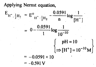 NCERT Solutions For Class 12 Chemistry Chapter 3 Electrochemistry Textbook Questions Q4