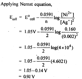 NCERT Solutions For Class 12 Chemistry Chapter 3 Electrochemistry Textbook Questions Q5