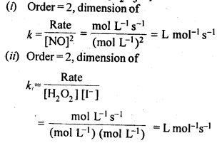NCERT Solutions For Class 12 Chemistry Chapter 4 Chemical Kinetics Exercises Q1.1