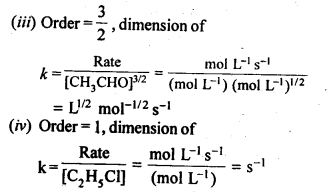 NCERT Solutions For Class 12 Chemistry Chapter 4 Chemical Kinetics Exercises Q1.2