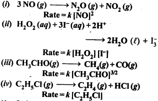 NCERT Solutions For Class 12 Chemistry Chapter 4 Chemical Kinetics Exercises Q1