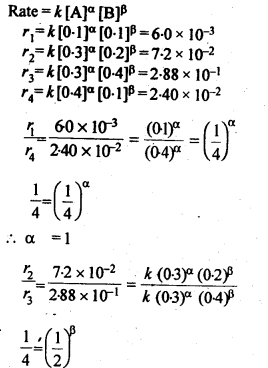 NCERT Solutions For Class 12 Chemistry Chapter 4 Chemical Kinetics Exercises Q11.1