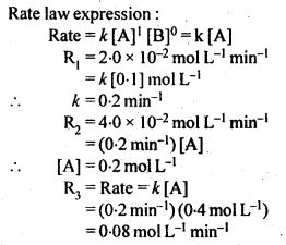 NCERT Solutions For Class 12 Chemistry Chapter 4 Chemical Kinetics Exercises Q12.1
