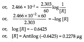NCERT Solutions For Class 12 Chemistry Chapter 4 Chemical Kinetics Exercises Q17.1