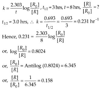 NCERT Solutions For Class 12 Chemistry Chapter 4 Chemical Kinetics Exercises Q25